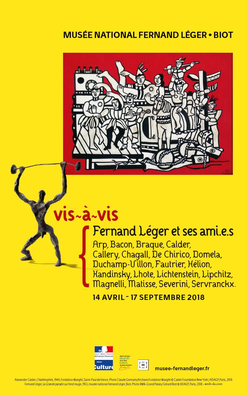 Musée Fernand Léger, Biot • Fernand Léger et ses amis