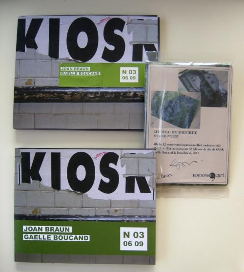 KIOSK N03 - Édition de tête