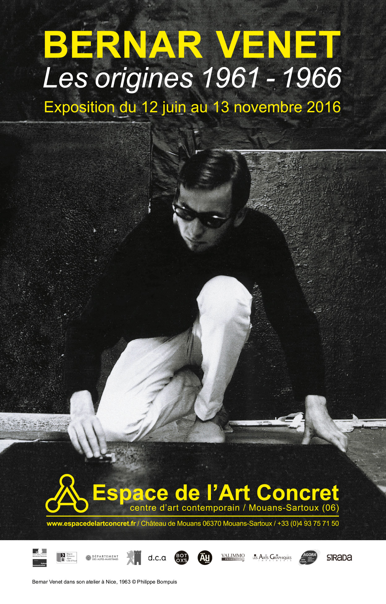 Bernar Venet, Les origines 1961 - 1966