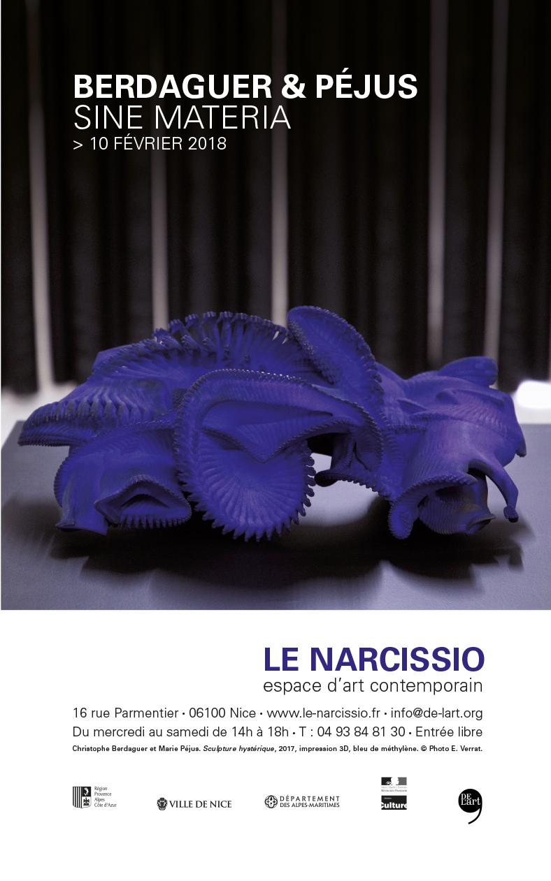 Christophe Berdaguer et Marie Péjus au Narcissio