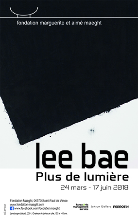 Lee Bae, Fondation Maeght, 24 mars - 17 juin 2018