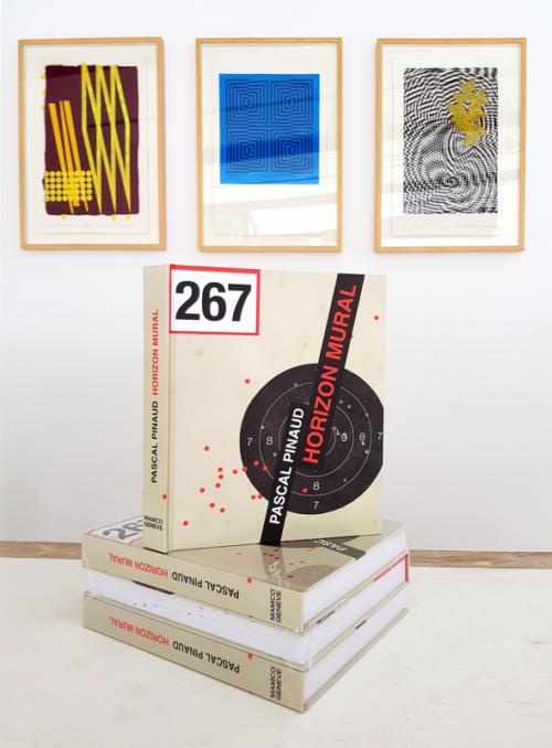 Pascal Pinaud •Catalogue Horizon mural, dessins, 1989-2018