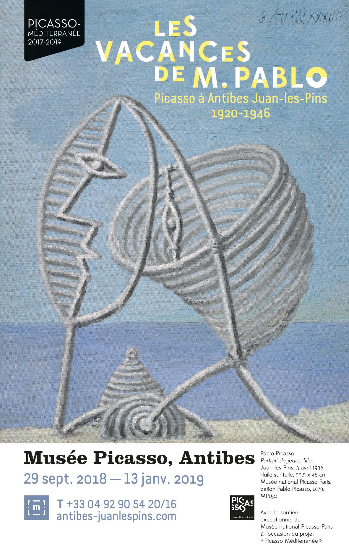 Les vacances de M. Pablo, Musee Picasso, Antibes