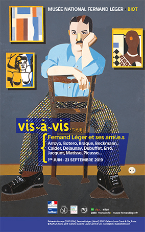 Vis-à-vis 3, musée national Fernand Léger, Biot