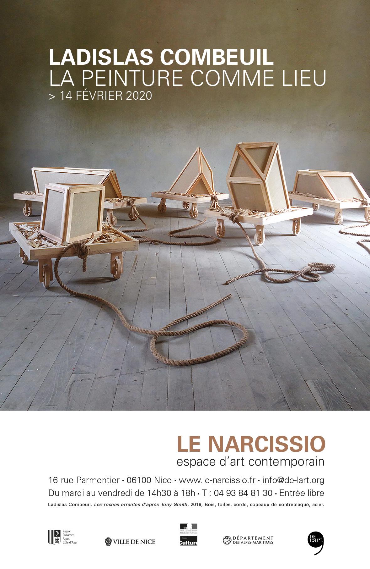 DEL'ART #55 Ladislas Combeuil • Le Narcissio