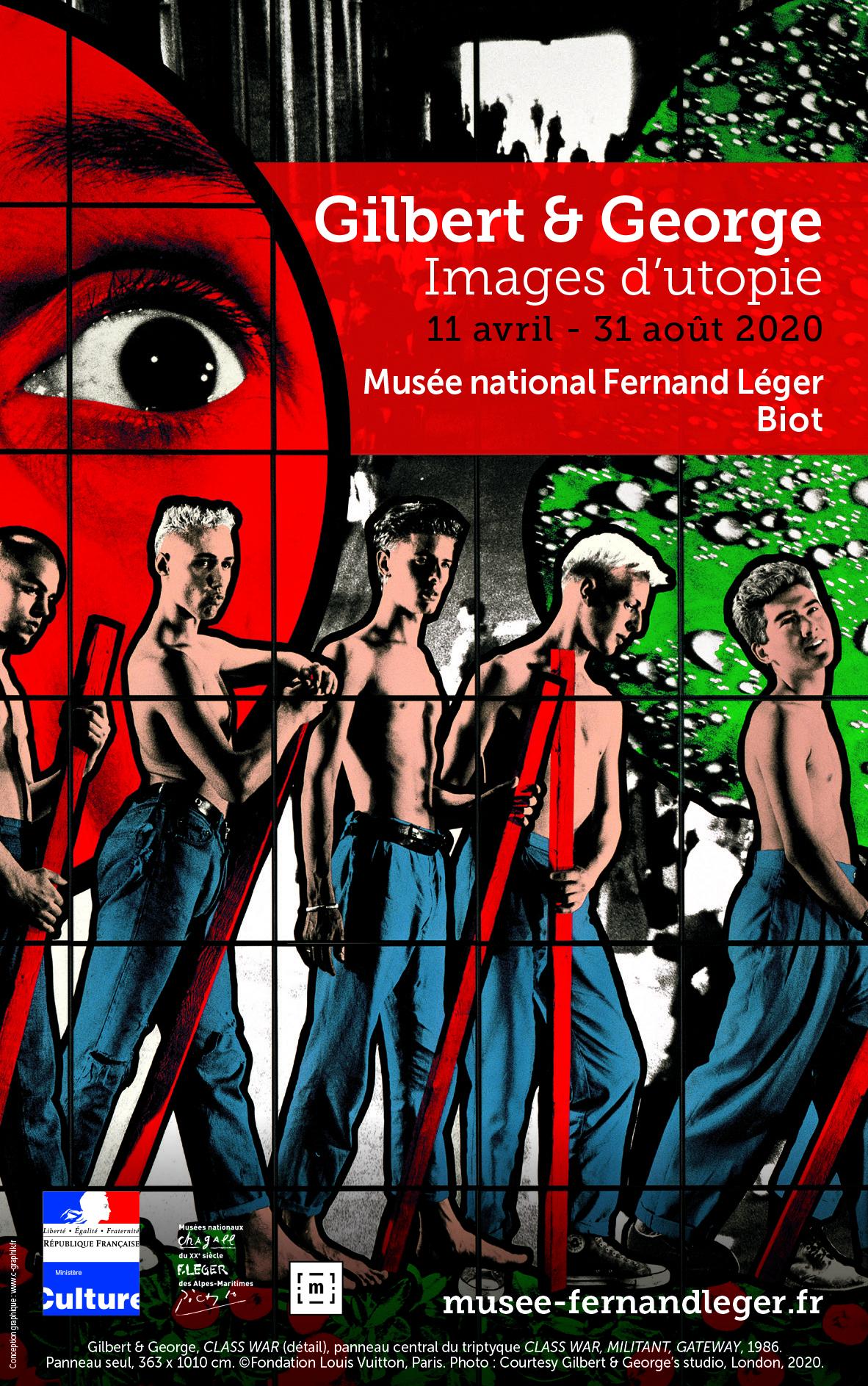 Gilbert & George, musée national Fernand Léger, Biot