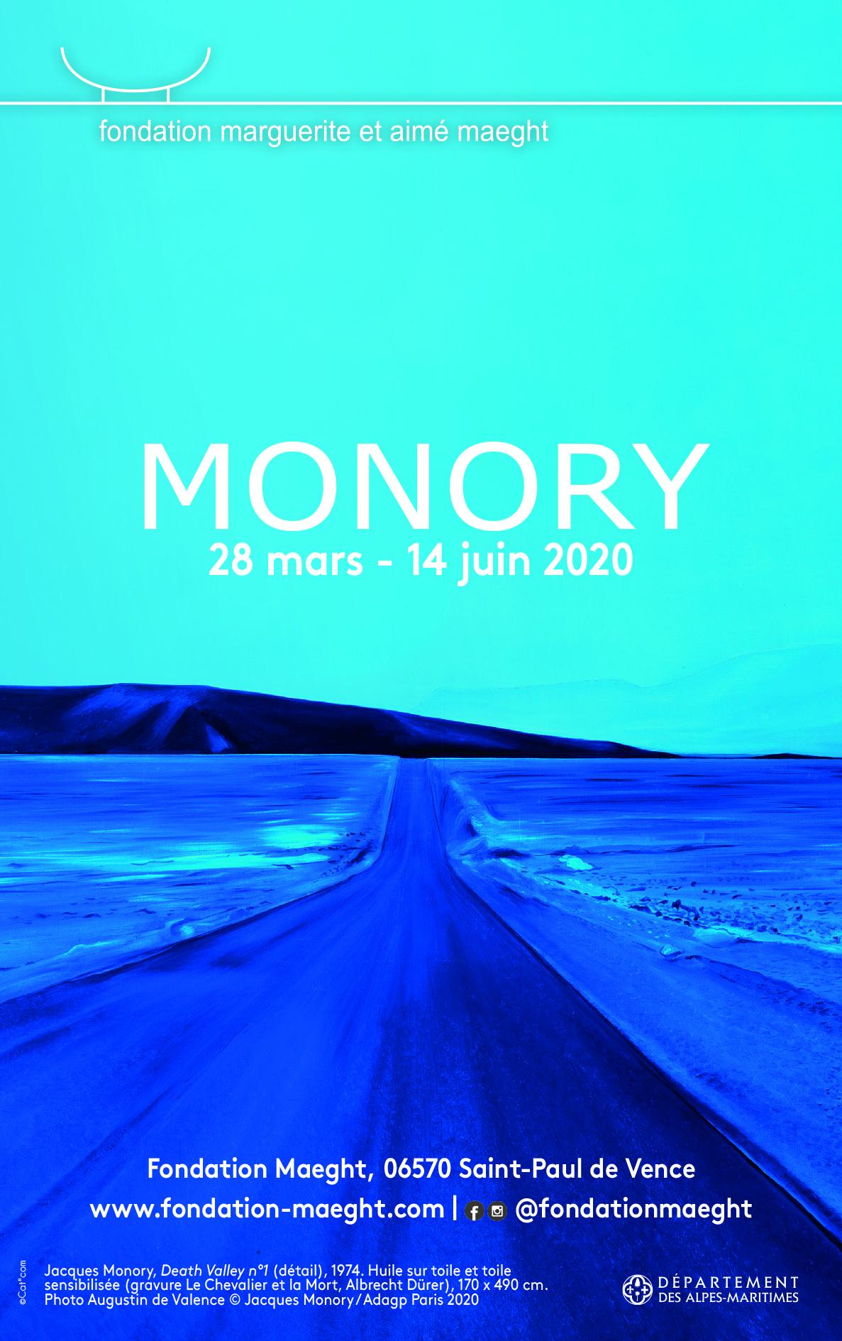 Jacques Monory, Fondation Maeght DEL'ART#56