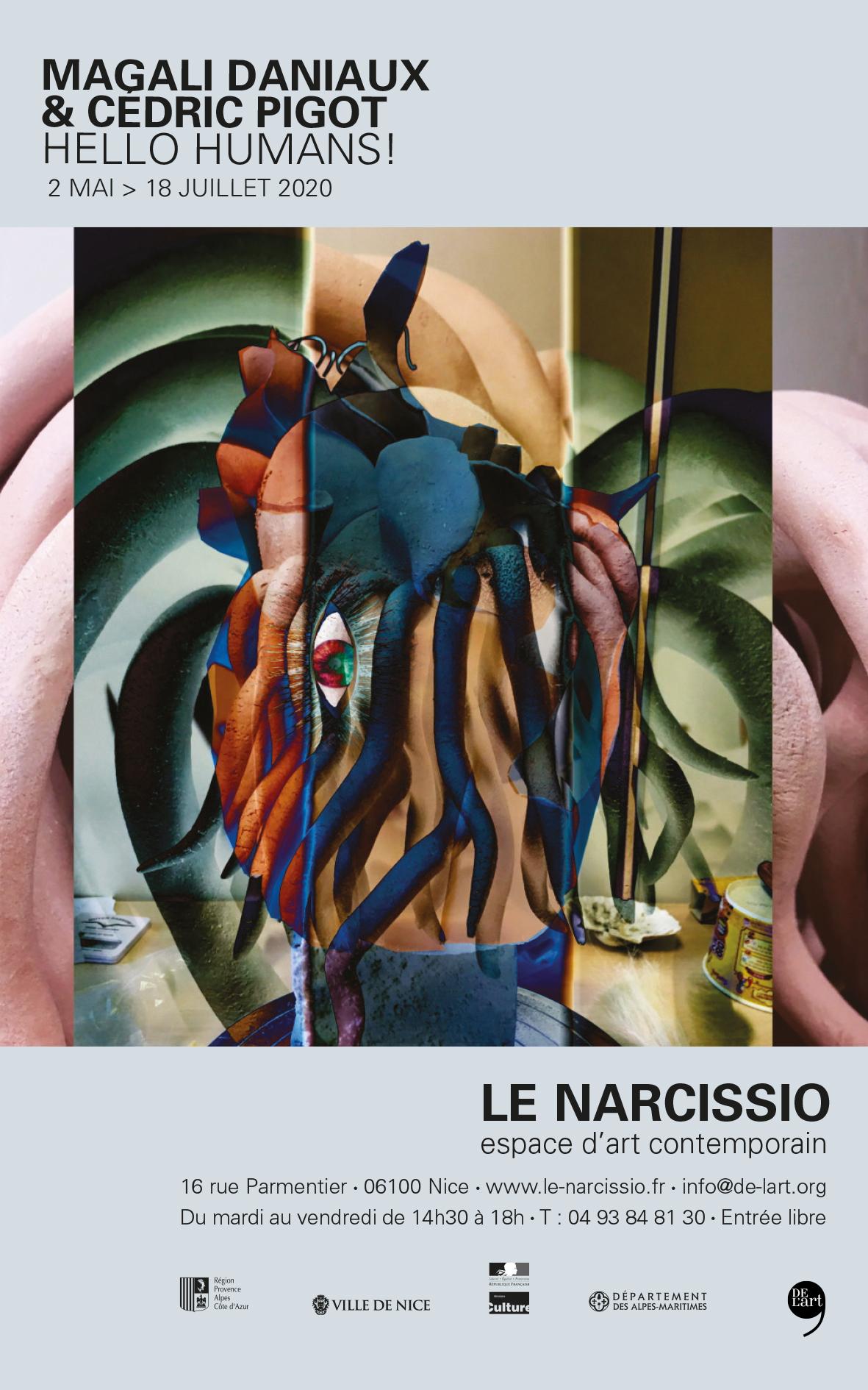 Magali Daniaux et Cédric Pigot, le Narcissio DEL'ART #56