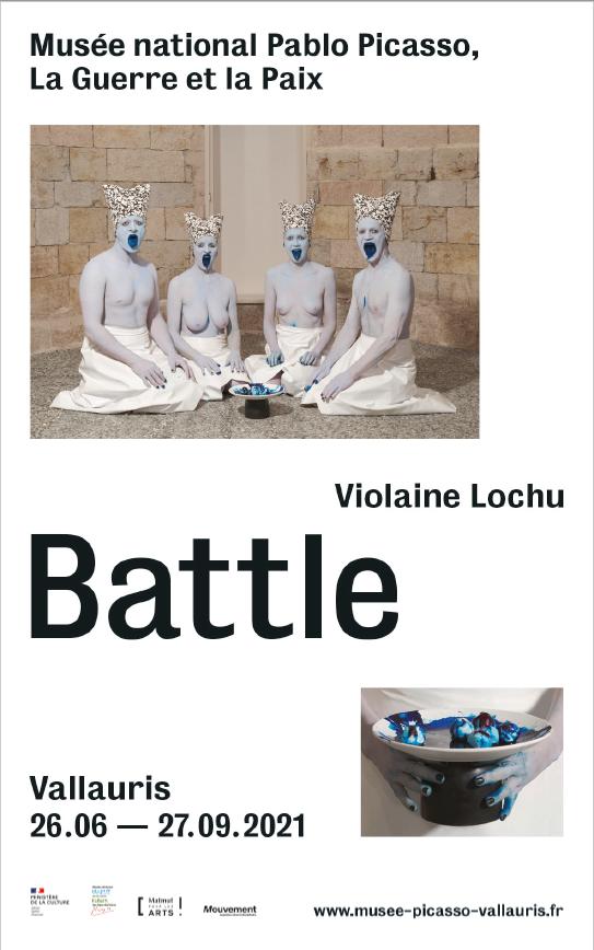 Violaine Lochu, Battle, musée national Pablo Picasso, Vallauris